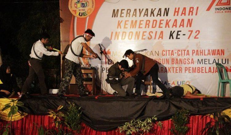 Penampilan Drama Murid Homeschooling biMBA Dalam Rangka Merayakan Hari Kemerdekaan Indonesia ke-72